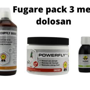 Fugare pack with dolosan Pro Bel Fly